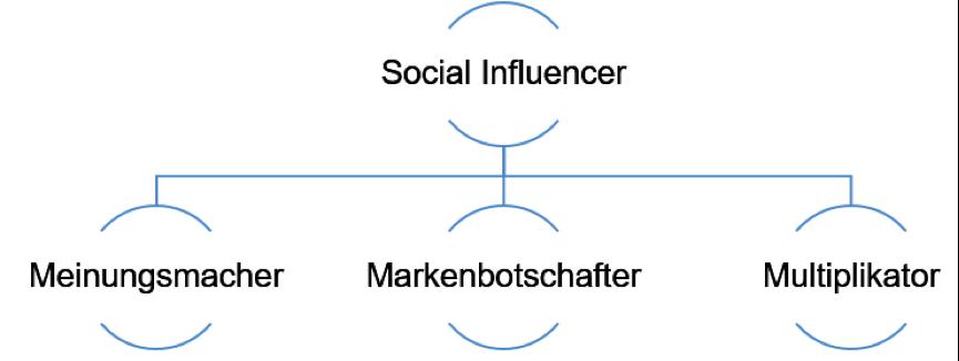 Social Influencer Bereiche