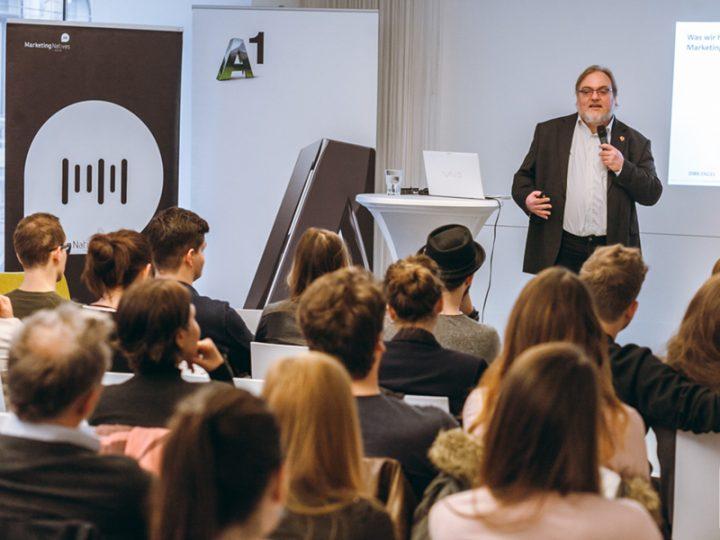 MN & A1 präsentierten: Werbewirkungsexperte Dirk Engel