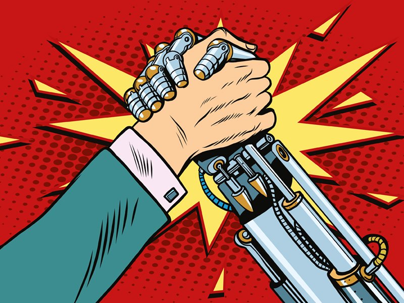 Beitragsbild Humans vs. Machines